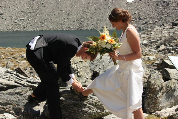 adventure wedding bouldering queenstown
