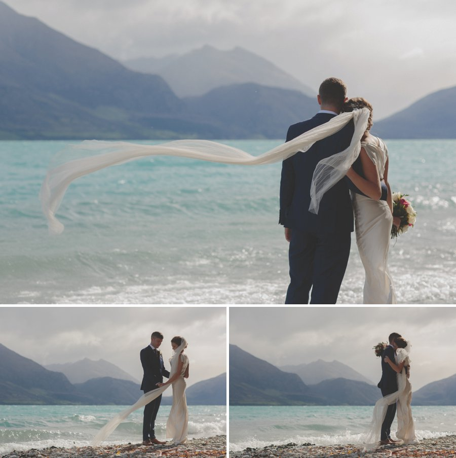 An intimate elopement in Glenorchy