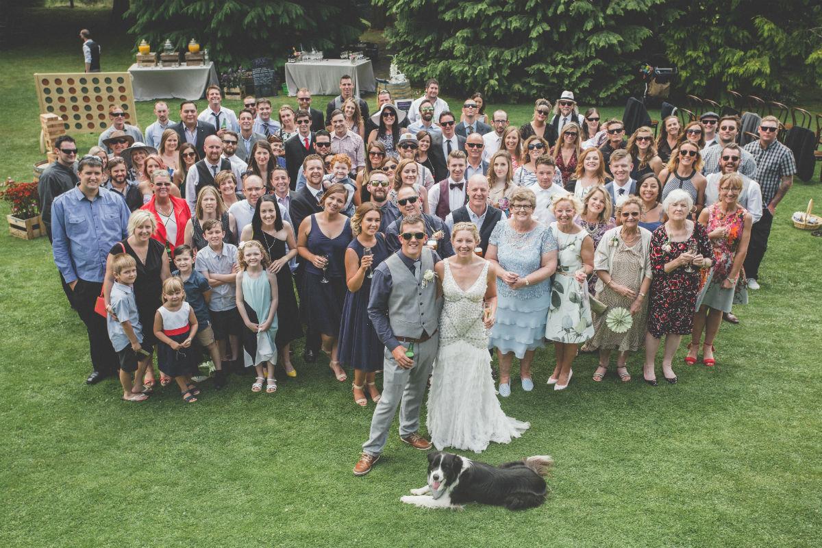 Winkel Wedding group photo!
