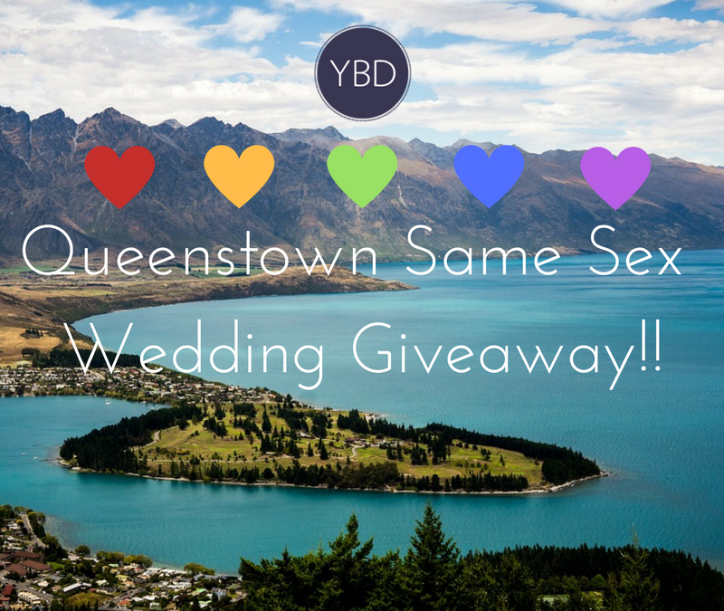 Queenstown Same Sex Wedding Giveaway