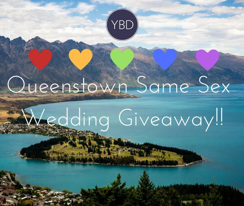 Queenstown Same Sex Wedding Giveaway