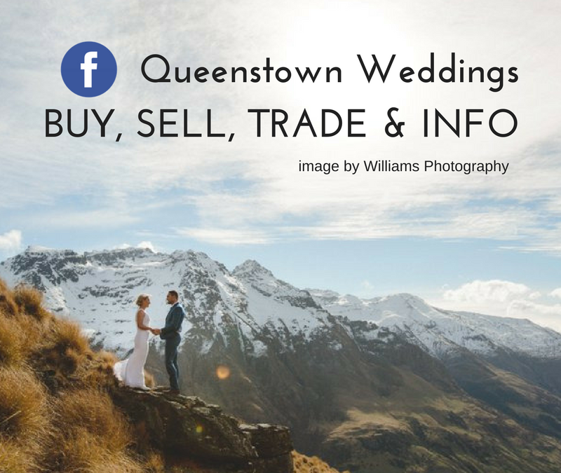 The only Facebook Group You'll ever need to plan the perfect Queenstown wedding
