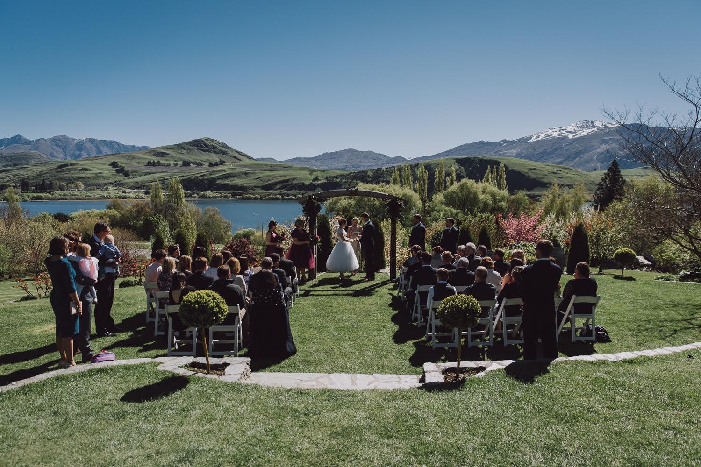 Civil Union ceremony at StoneRidge Estate