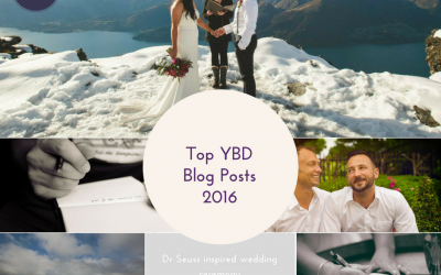 Top Your Big Day Blog Posts of 2016