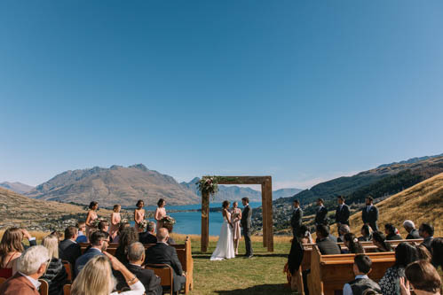 Personalising your Queenstown wedding ceremony – choosing the perfect ceremony location