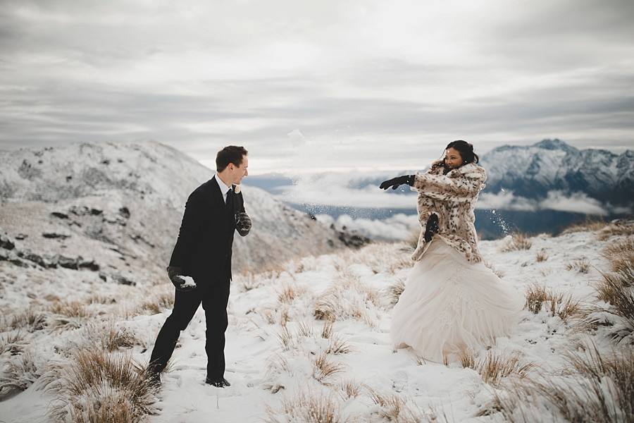 10 Reasons You Should Choose a Queenstown Winter Elopement