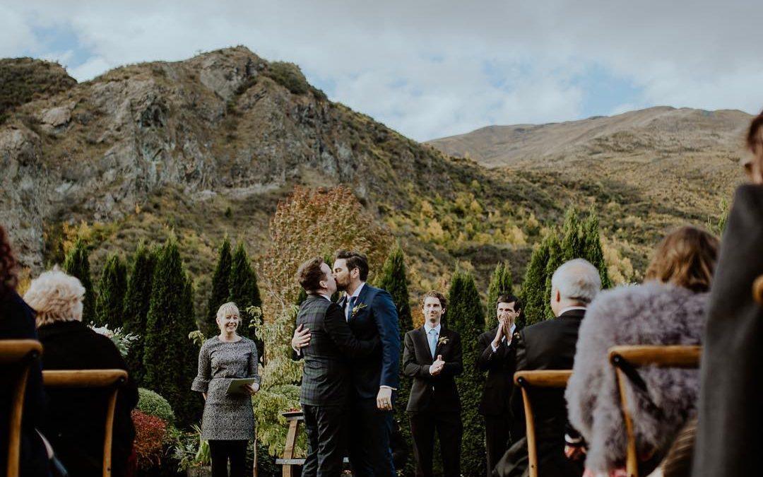 queenstown celebrant wedding