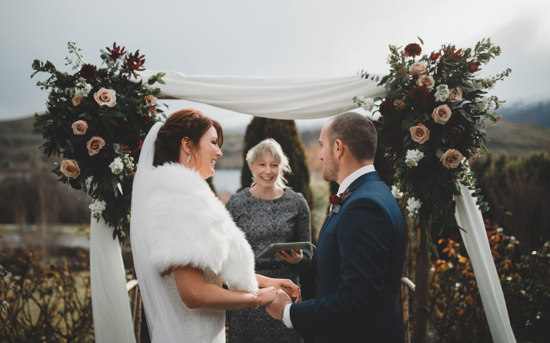 """Charlotte was amazing help in writing our own wedding vows and allowed us to really personalise our wedding"""
