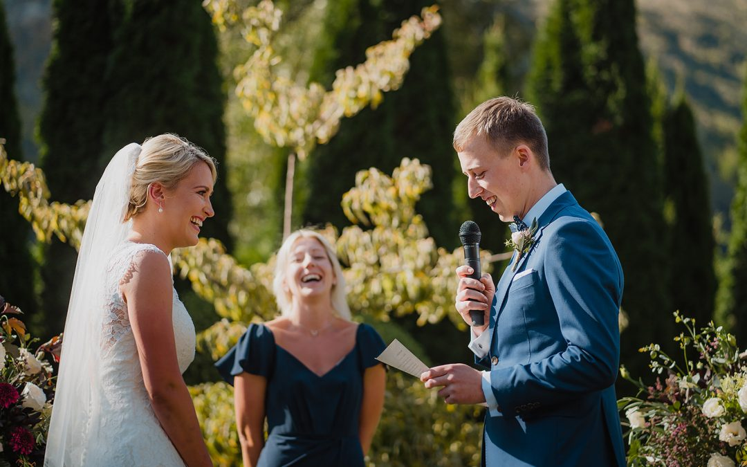 """Charlotte was the most incredible wedding celebrant!"""
